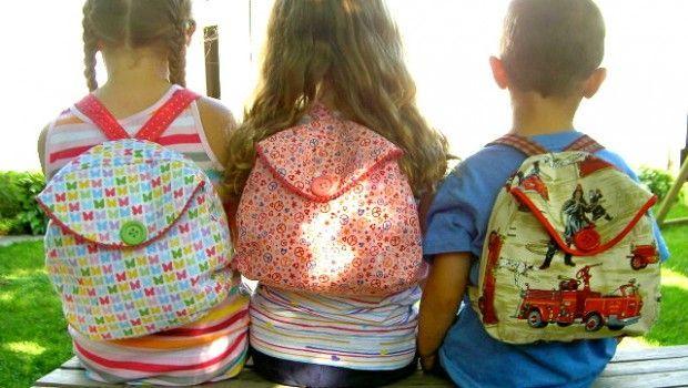 Creare uno zaino fai da te per la scuola chic e alla moda