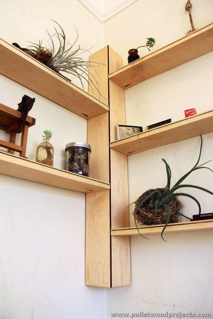 Cool New Wall Shelves For Plants Diy Corner Shelf Corner Shelf
