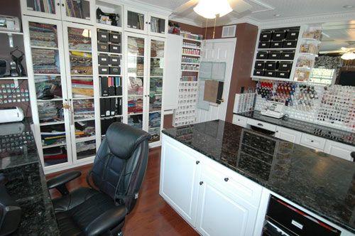 The Best Crafts Room Organization Ever | Shelterness