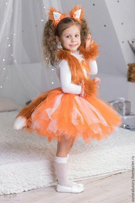 Детские карнавальные костюмы ручной работы. Костюм лисички. Aurora  Alexandrovna. Интернет-магазин Ярмарка a620c07ca3f0e