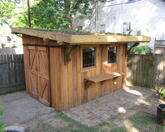 cool shed for outdoor supplies