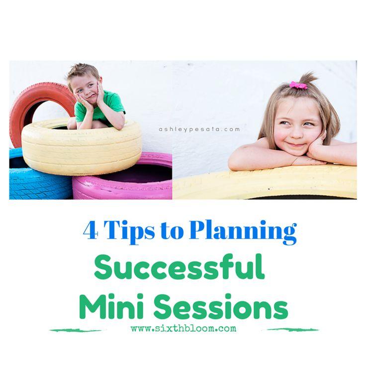 4 Tips to Planning Successful Mini Photo Sessions  Mini Session Photographer Eductation Idea Resource on www.sixthbloom.com written by ashley pesata www.ashleypesata.com