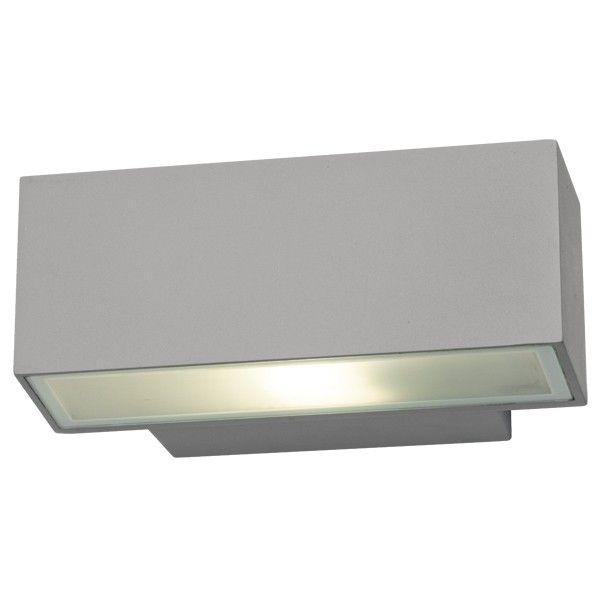 Pilot 2 Light Exterior Wall Bracket In Silver,Lighting,Beacon Lighting