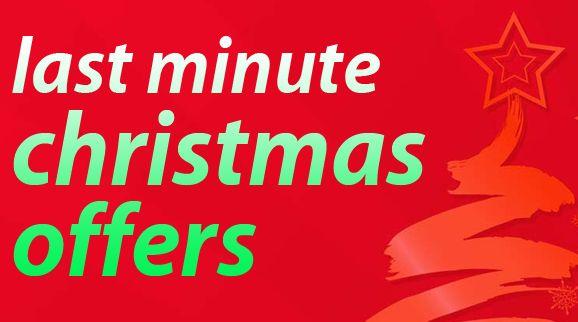 Last minute Christmas offers!