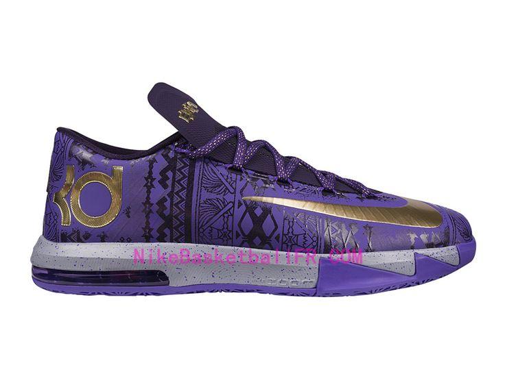Nike KD 6 BHM Pas Cher Violet Vnm / Mtllc or Prpl Dynsty 646742-500 · Basketball  CoachBasketball ShoesKd ...