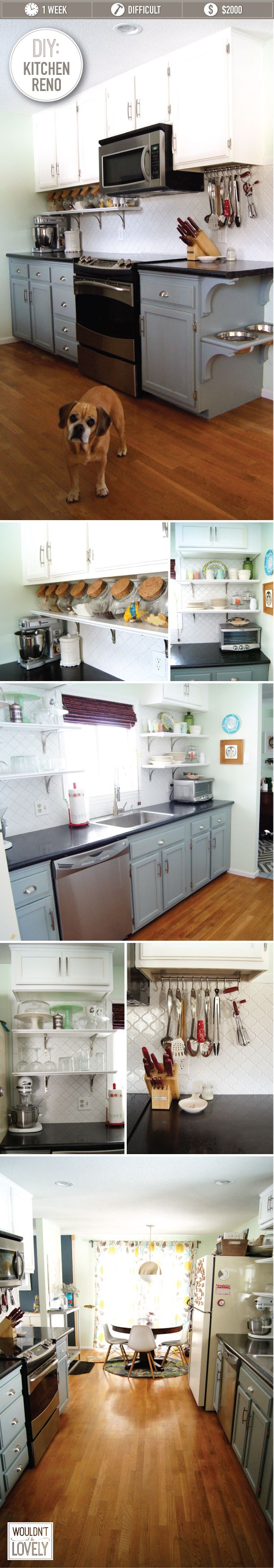 DIY Kitchen Renovation — Wouldn't it be Lovely