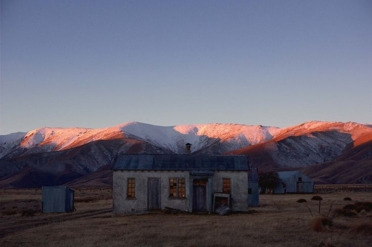 The shearers' kitchen on Home Hills Runs Road at the head of the Ida Valley. Graeme sydney