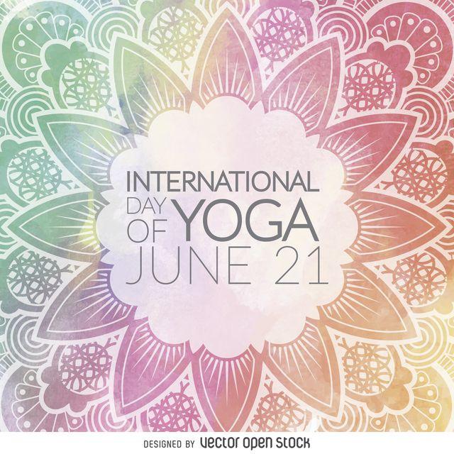 Día Internacional de la mandala de la yoga