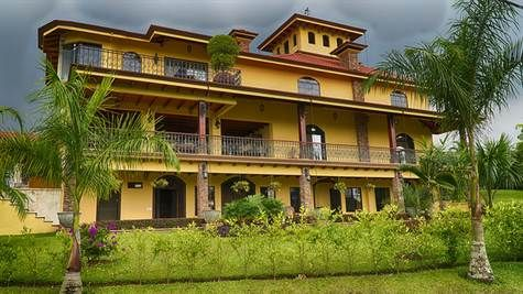 Specatucalar 33,000 ft2 estate home, fully furnished, and recently built on 45ha of magnificent grounds - $4.5m https://costaricainvest.infusionsoft.com/app/hostedEmail/1788394/19f8cbd0dd363582