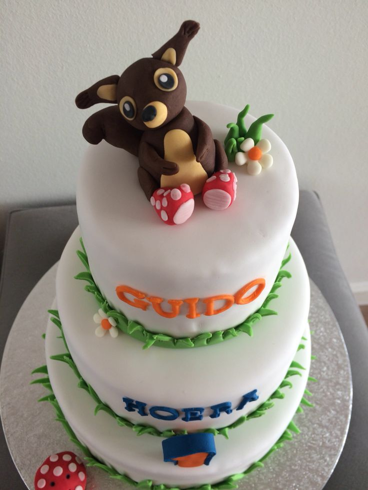 Taart eekhoorn squirrel cake