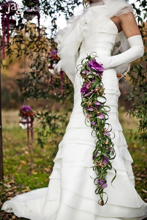 Cascade Bridal Bouquet Bollea Floral Design Gallery