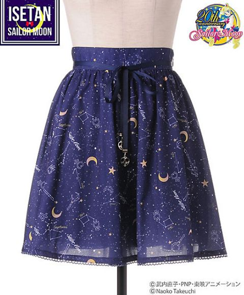 New Sailor Moon clothing line for Tokyo department store may be the most stylish and elegant yet