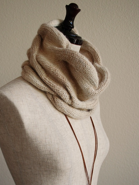 Burberry Scarf Knit Cowl
