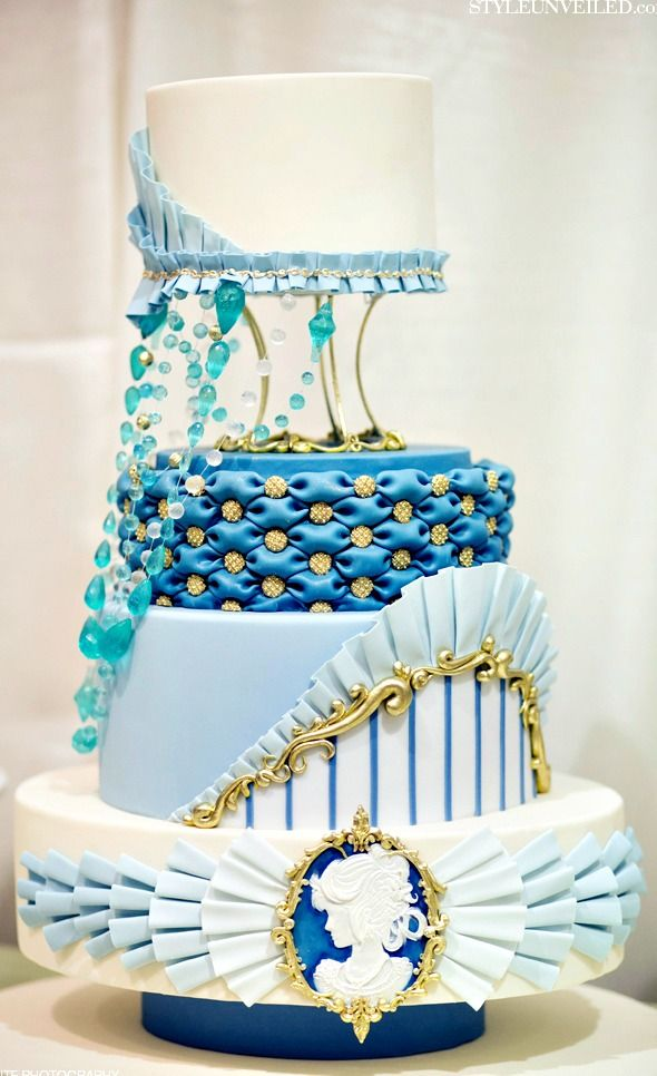 Cake Art Mo : 1000+ images about CAKES: Tiered Traditional/Fountain ...