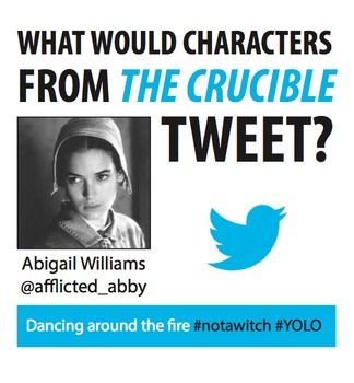 I need to write an essay paper analyzing Abigail Williams from the book The Crucible .?