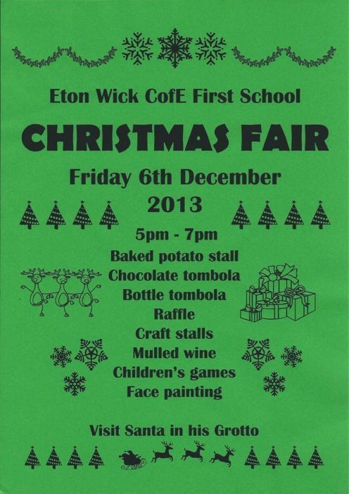 We'll be at Eton Wick's #ChristmasFair on Friday 6th December! Come and check out our creative activity packs & gift boxes in our #Christmas shop!