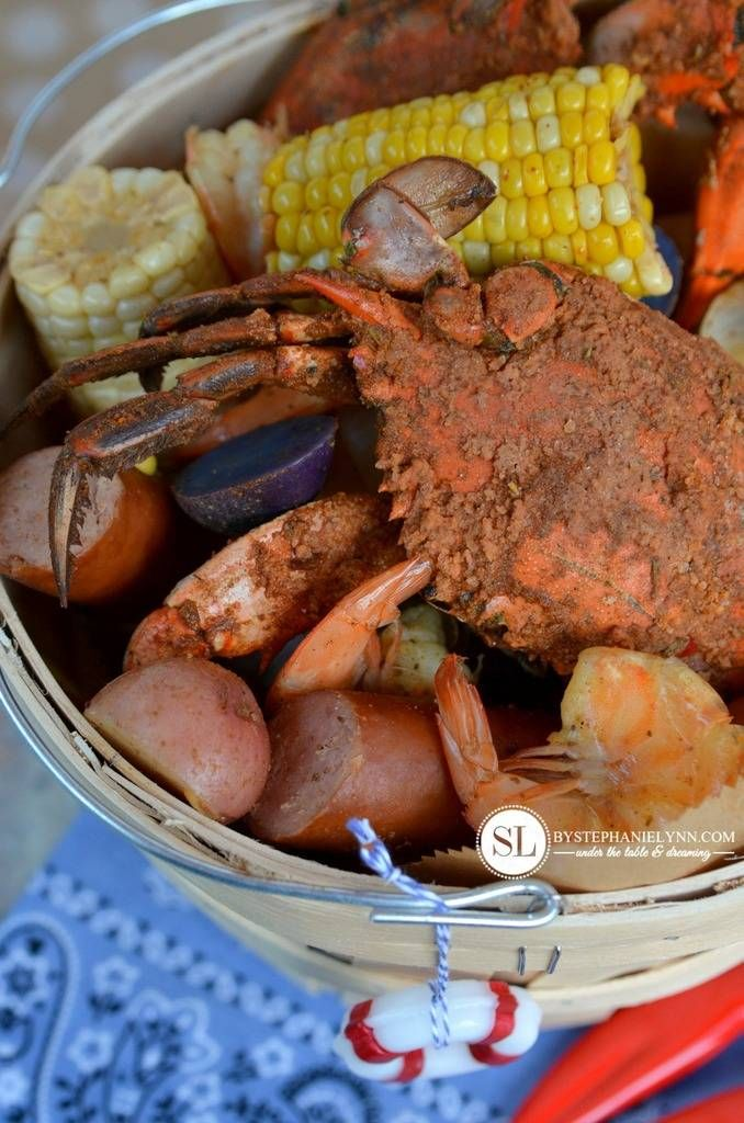 Crab Feast Party Crab And Shrimp Boil Summer Entertaining