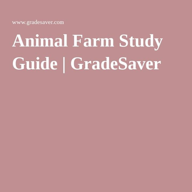 animal farm commentary Social commentary is the act of using rhetorical means to allegorical fictional works such as animal farm clearly contain a social commentary and one can find.