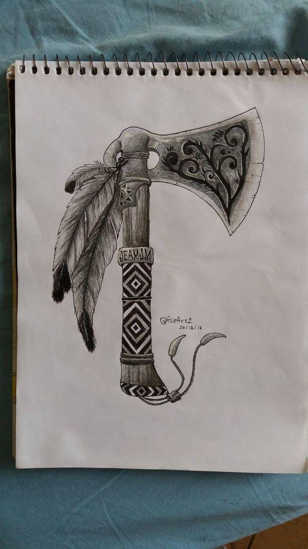 Machado indígena; Axe