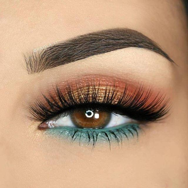 Atemberaubende Augen Make-up-Ideen sollten Sie versuchen #eyemakeup #makeup #eye…