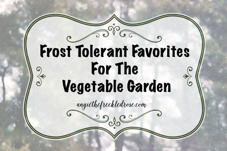 Frost Tolerant Favorites For The Vegetable Garden Garden 400 x 300