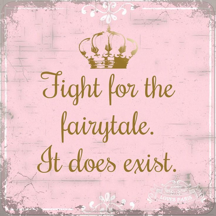 Fight for a Fairy tale. It does exist