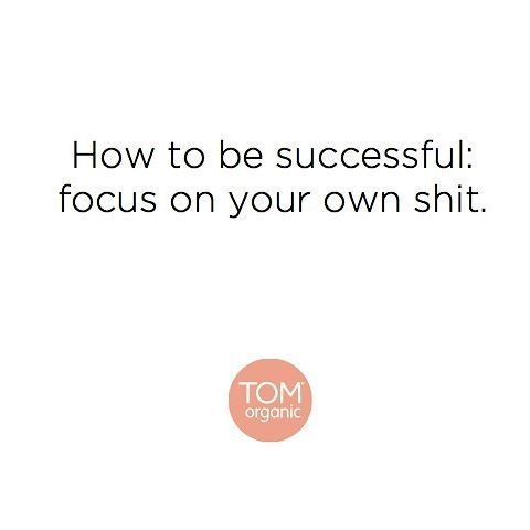 Focus on yourself x