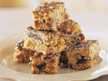 Honey and peanut butter bars