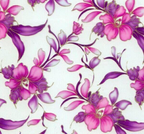 pelicula para water transfer printing modelo floral rosas tamanho 1mts x 50cm de largura - Space Arts