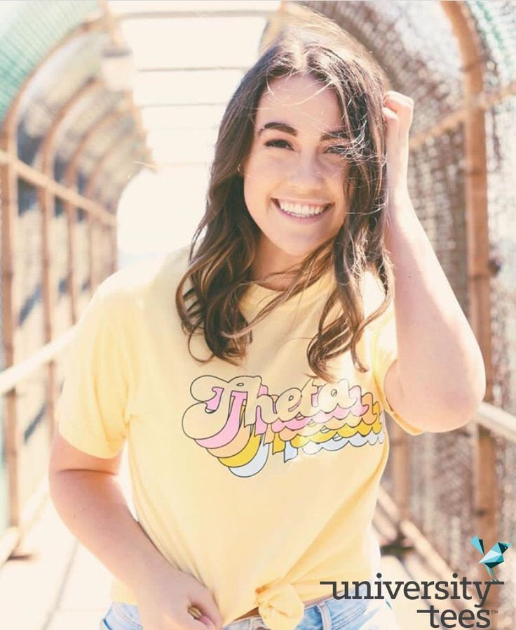 starting the week with a smile <3 | Kappa Alpha Theta | Made by University Tees | universitytees.com