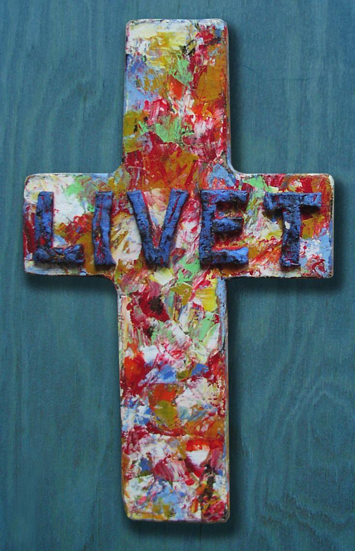 "cross ""Life"""