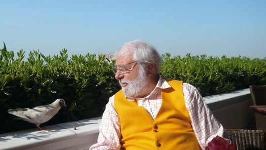 Gourmetkritiker Wolfram Siebeck in Griechenland