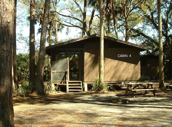 Cabins And Lodge At Hontoon Island State Park