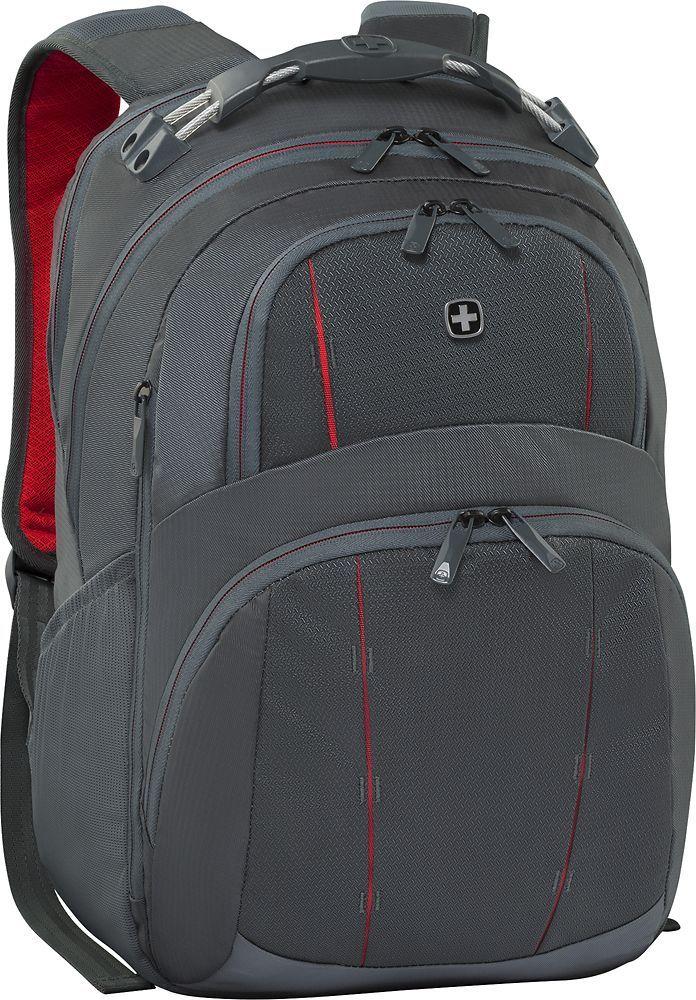 SwissGear - Tandem Laptop Backpack - Gray