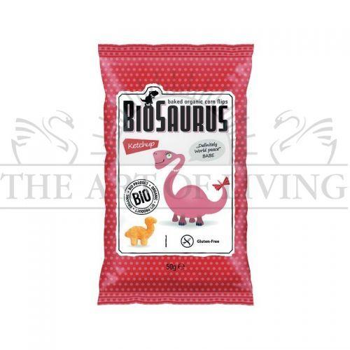 Био Печен Царевичен Снакс Кетчуп - БЕЗ ГЛУТЕН, 50 гр.-висококачествен биологичен продукт, който съдържа много полезни за вашето здраве вещества и уникален вкусeн.  Хапка щастие!