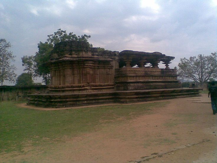 Ramappa temple (Ramalingeswara gudi) located 75 km from Warangal, the ancient capital of Kakatiya dynasty, 155 km from Hyderabad, Telangana, Southern India. It is situated at Palampet village, Venkatapur Mandal, Mulug Taluq, Warangal district.