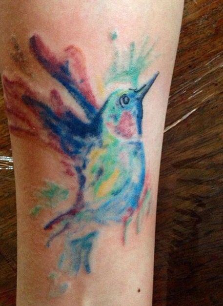 #Colibrí #tattoo