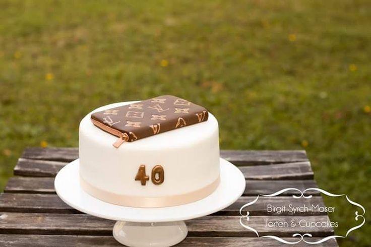 Logos Vuitton Birthday Cake - Birgit Syrch-Moser - Google+