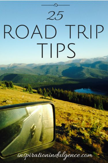 Planning a road trip? Be sure to check out these 25 useful road trip tips, sure to help you pack smartly and save money on your next trip!