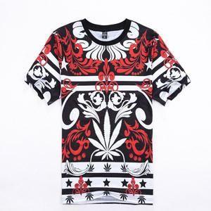 Mary Jane Leaf Harajuku Style T-Shirt