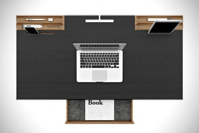 Bureau minimaliste de Pavel Vetrov