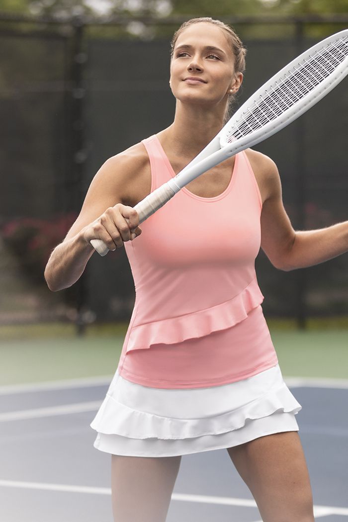Check out Fila's newest women's tennis apparel collection ...