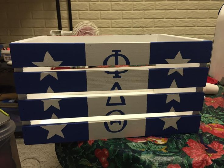 phi delta theta fraternity crate
