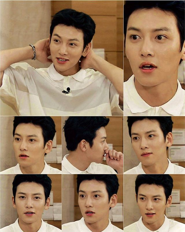 """Do u like his new hair color? Black!  Section TV for musical """"The Days 2016"""" . . . . Cr & Thx to owner @ji_marylee #jichangwook #지창욱…"""