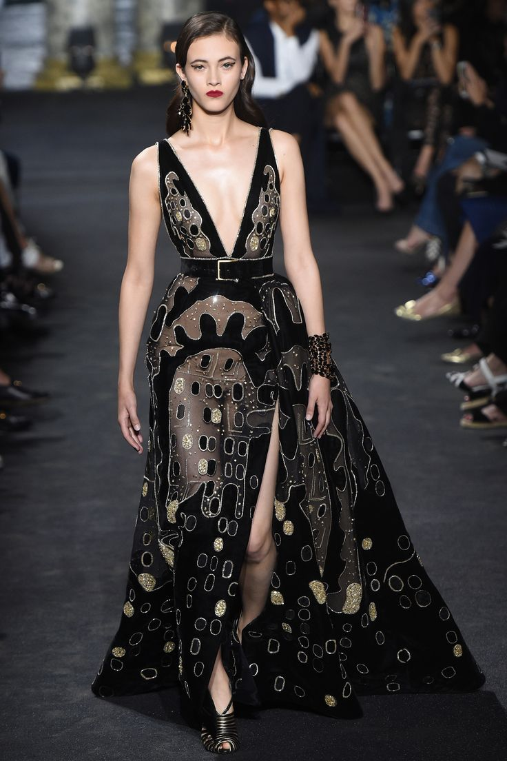 496 best Elie Saab images on Pinterest | High fashion, Fashion show ...