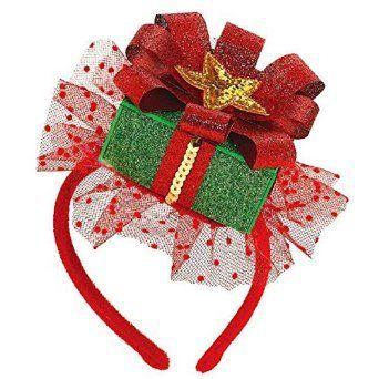 christmas headbands - Buscar con Google