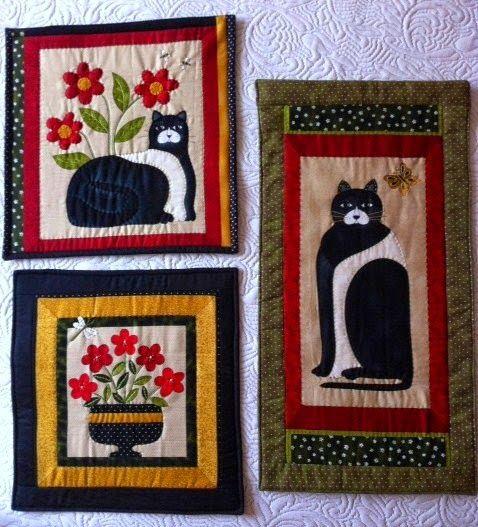 Outros painéis de gatos e flores