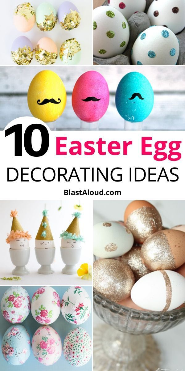 10 Cute And Fun Diy Easter Egg Decorating Ideas To Try This Year