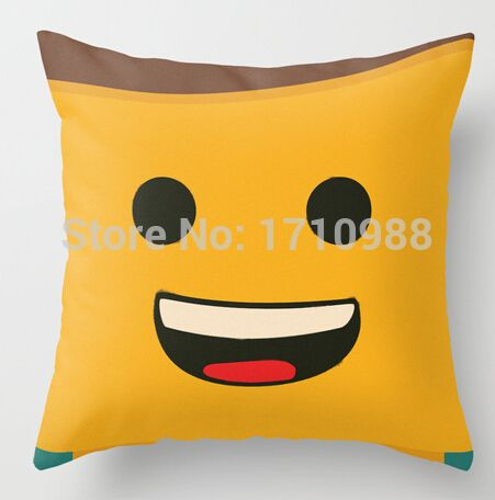 Free shipping LEGO - Emmet (two sides) Pillow Cases for 12x12 14x14 16x16 18x18 20x20 24x24 inch