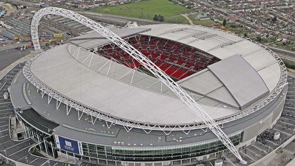 Stadion Wembley di London Inggris
